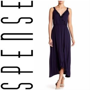 Spense Tassel Bodice Maxi Dress